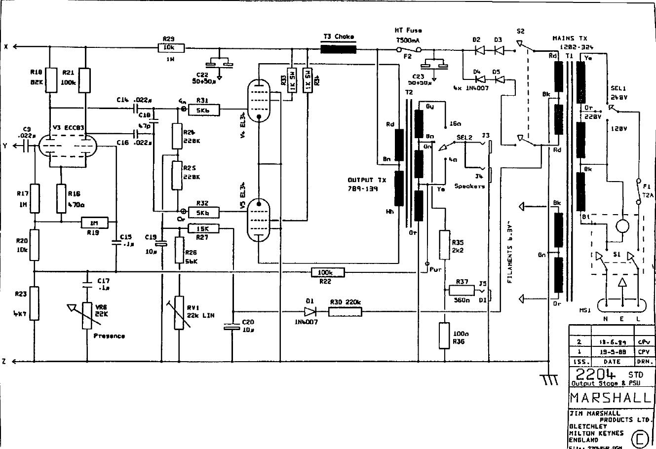 JCM800 Schema page 2